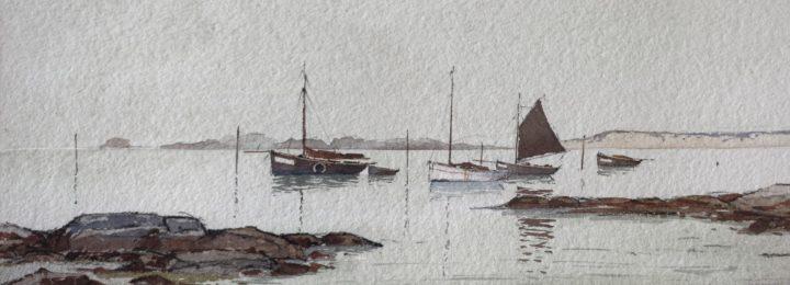 Invitation à découvrir Ô Large – peintures marines