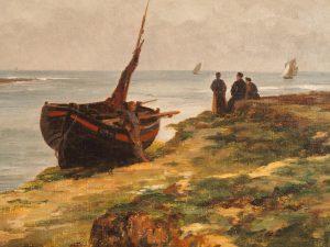 Estuaire à marée basse