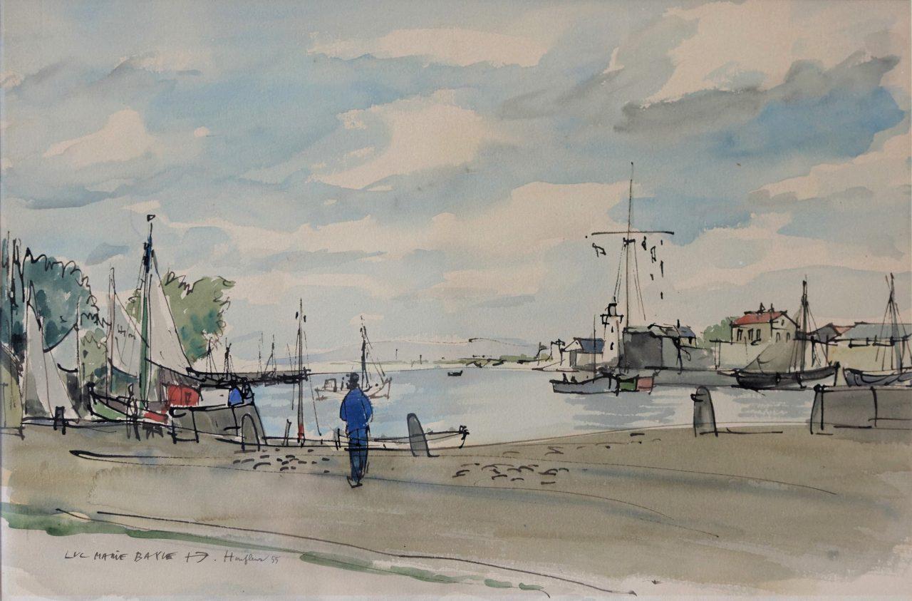 Honfleur – Bassin avant port