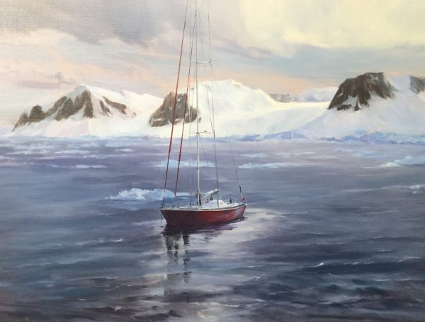 Pierre et Luc BERNAY  – Peintres de l'Antarctique